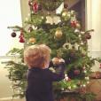Agathe Lecaron a publié une photo de son fils Gaspard sur sa page Instagram au mois de décembre 2016
