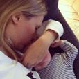Agathe Lecaron a publié une photo de son fils Felix sur sa page Instagram au mois de novembre 2016