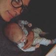 Agathe Lecaron a publié une photo de son fils sur sa page Instagram au mois de décembre 2016