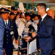 Cristiano Ronaldo à son arrivée au Japon. Photo postée sur Instagram en décembre 2016.