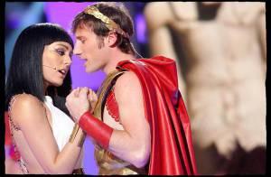 PHOTOS EXCLUSIVES : Sofia Essaïdi et Chris Stills, un couple magnifique dans 'Cléopâtre' !