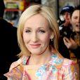 J.K. Rowling à Londres en 2008.