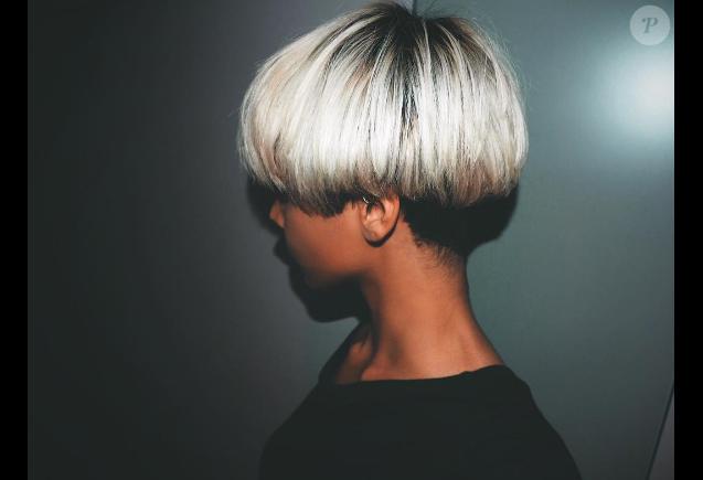 Shy'm a dévoilé une nouvelle coupe de cheveux sur sa page Instagram le 14 décembre 2016
