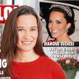 """""""Le mariage de Pippa Middleton, qui aura lieu le 20 mai 2017, fait la couverture du magazine britannique Hello!, édition du 19 décembre 2016."""""""