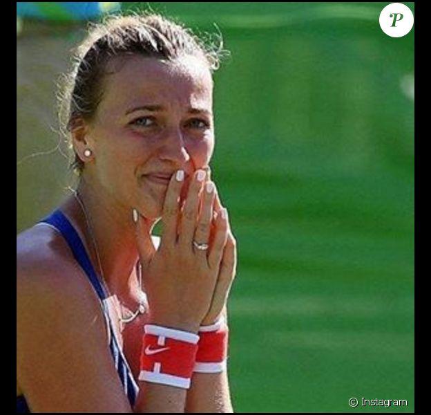 Petra Kvitova annonce la fin de sa saison pour cause de blessure - novembre 2016.