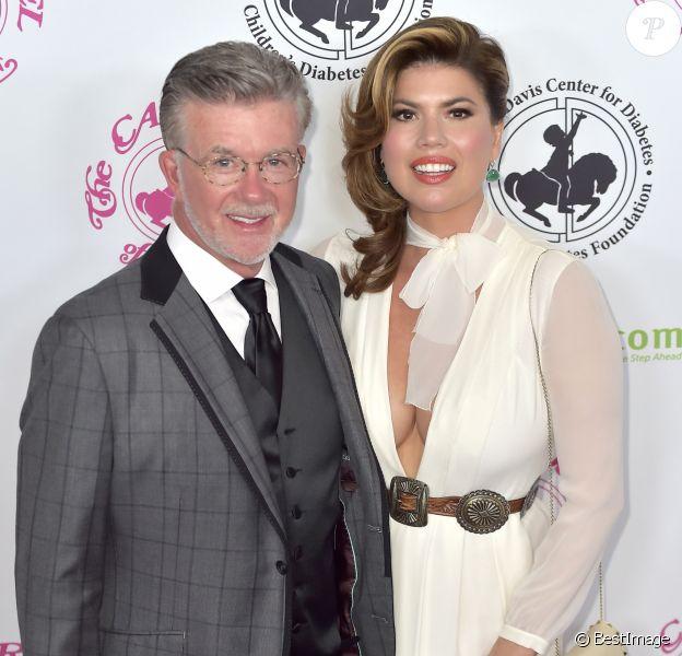 Alan Thicke et sa femme Tanya Callau à la soirée caritative Carousel Of Hope 2016 à Los Angeles, le 8 octobre 2016
