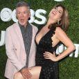 """Alan Thicke et sa femme Tanya Callau à la soirée """"CBS Television Studios Summer"""" au centre Pacific Design à West Hollywood, Californie, Etats-Unis, le 10 août 2016."""