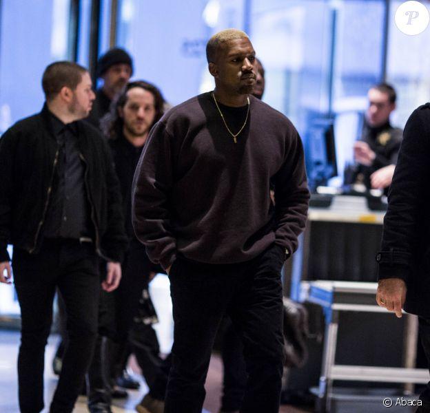 Kanye West à la Trump Tower à Manhattan, New York, le 13 décembre 2016.