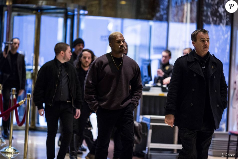 Kanye West à la Trump Tower à Manhattan, New York, le 13 décembre 2016.