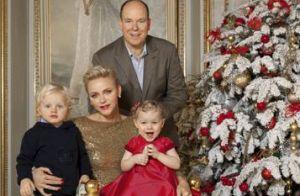 Albert et Charlene de Monaco: Meilleurs voeux des jumeaux Jacques et Gabriella !