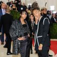 """Willow Smith et son frère Jaden Smith - Soirée Costume Institute Benefit Gala 2016 (Met Ball) sur le thème de ""Manus x Machina"" au Metropolitan Museum of Art à New York, le 2 mai 2016. © Christopher Smith/AdMedia via ZUMA Wire/Bestimage"""
