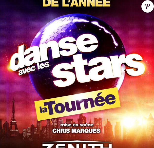 """Affiche de la tournée """"Danse avec les stars 7"""""""