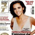 Magazine Télé 7 Jours en kiosques le 26 décembre 2016.