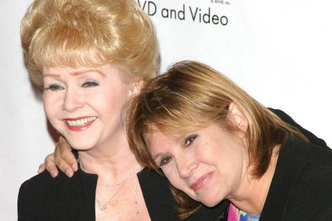 Carrie Fisher et sa mère Debbie Reynolds : Icônes hollywoodiennes si complices...