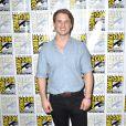 """""""Freddie Stroma sur le Photocall de la série """"Time after Time"""" lors du Comic-con de San Diego le 23 juillet 2016."""""""