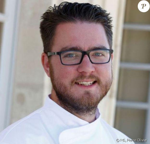 """Carl Dutting, gagnant d'""""Objectif Top Chef"""" saison 3, décembre 2016"""