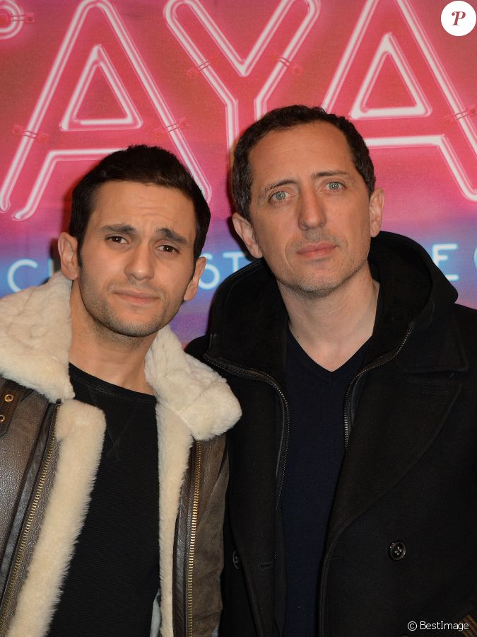 malik bentalha et gad elmaleh avant premi re du film pattaya au gaumont op ra paris le 15. Black Bedroom Furniture Sets. Home Design Ideas