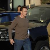 PHOTOS EXCLUSIVES : Arnold Schwarzenegger en mode... père Noël !