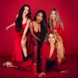 """""""Première photo promotionnelle du groupe Fifth Harmony depuis le départ de Camila Cabello. Photo publiée sur Twitter le 6 janvier 2017"""""""