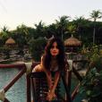 """""""Camila Cabello torride lors de ses vacances à Cancun. Photo publiée sur Instagram en janvier 2017"""""""