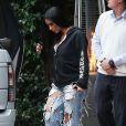 Kim Kardashian se promène à Bel Air. Los Angeles, le 4 janvier 2017.