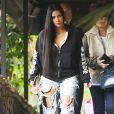 Kim Kardashian dans les rues de Los Angeles, le 4 janvier 2017