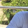 """Nikola Karabatic pose avec son fils Alek sur Instagram."""