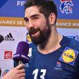Nikola Karabatic - L'équipe de France de handball perd contre le Danemark (28-29) en Golden League, à l'AccorHotels Arena à Paris le 7 janvier 2018. © Lionel Urman/Bestimage