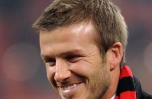 PHOTOS : David Beckham, à peine arrivé à Milan, il déchaîne déjà les foules !