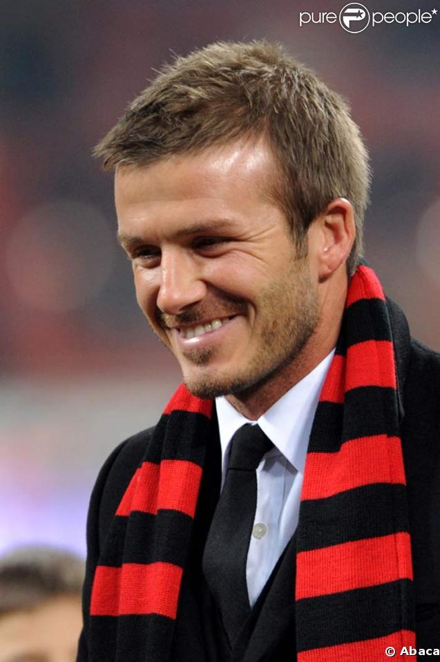 David Beckham acclamé par son public milanais