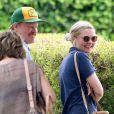Kirsten Dunst est allée déjeuner avec son petit ami Jesse Plemons à Los Angeles, le 19 septembre 2016