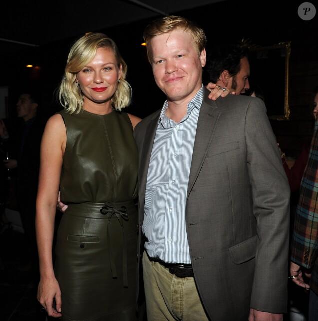 Kirsten Dunst et Jesse Plemons à Los Angeles, le 7 octobre 2015.
