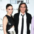 """Rooney Mara, Joaquin Phoenix - Premiere du film ""Her"" lors du 51eme Festival du film de New York, le 12 octobre 2013."""