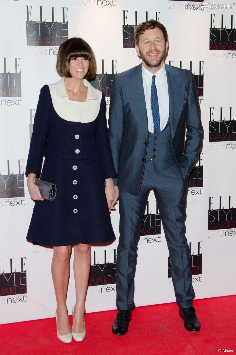 Dawn Porter et Chris O'Dowd aux ELLE Style Awards 2013 à Londres, le 11 février 2013.