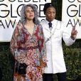 Pharrell Williams, Mimi Valdes - 74e édition des Golden Globe Awards à Beverly Hills, le 8 janvier 2017. © Olivier Borde/Bestimage