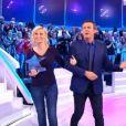 """Claire - """"Les 12 Coups de midi"""", dimanche 15 janvier 2017, TF1"""