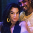 Gessica Notaro et son ex-compagnon  Jorge Edson Tavares. Photo publiée sur Instagram en décembre 2015