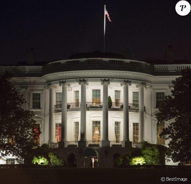 Dîner à la Maison Blanche lors du sommet des chefs d'Etat de cinq pays nordiques à Washington le 14 mai 2016.