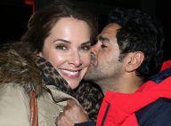 Jamel Debbouze : Tendre baiser à sa chérie Mélissa Theuriau et mise au point...