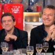 """Christian Quesada et Jean-Luc Riechmann dans """"C à vous"""" (France 5) le 17 janvier 2017."""