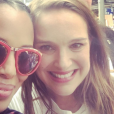 Kerry Washington et Natalie Portman lors de la manifestation anti-Trump à Washington le 21 janvier 2017.