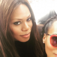 Laverne Cox et Kerry Washington lors de la manifestation anti-Trump à Washington le 21 janvier 2017.