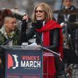 Gloria Steinem - People, activistes, écrivains et citoyens prennent la parole lors de la 'marche des femmes' contre Trump à Washington, le 21 janvier 2017.