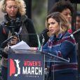 America Ferrera - People, activistes, écrivains et citoyens prennent la parole lors de la 'marche des femmes' contre Trump à Washington, le 21 janvier 2017.