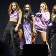 Perrie Edwards, Jesy Nelson, Jade Thirlwall et Leigh-Anne Pinnock du groupe Little Mix au Concert Free Radio Live à Birmingham le 26 novembre 2016