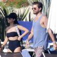 Exclusif - Kourtney Kardashian et Scott Disick passent un week end romantique à Los Cabos au Mexique le 14 novembre 2016.