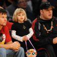 Mark Wahlberg, sa fille Ella Rae et Kevin James