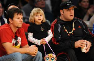 PHOTOS : Mark Wahlberg, sa craquante petite fille Ella, et Adam Sandler ont passé Noël ensemble !