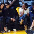Prince, sa femme Manuela, Denzel Washington et son épouse Pauletta