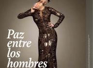 PHOTOS : La magnifique Paz Vega, en robe longue, talons hauts et plumes, est... une diva de la mode !